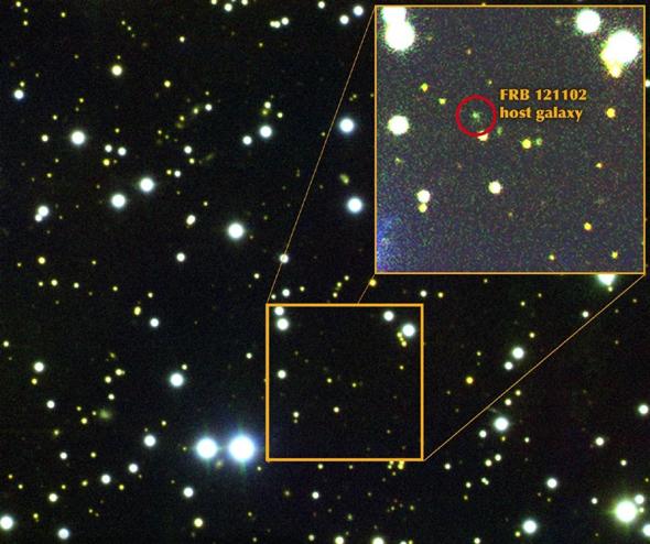 美国最新研究:外太空神秘电波首次发现来自矮星系
