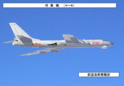 港媒:中国8架军机飞越日本海 日本网民:壮观!