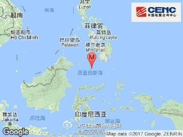 菲律宾东南部霍洛发生7.3级地震