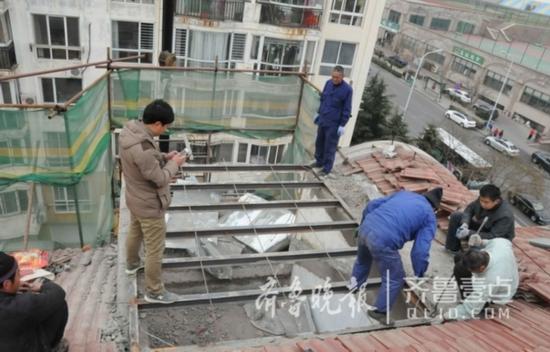 业主新房还没过户就忙着扩建阳台 交易被冻结