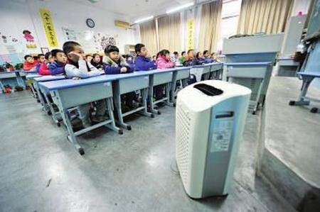 石家庄启动中小学幼儿园安装空气净化设备试点工作