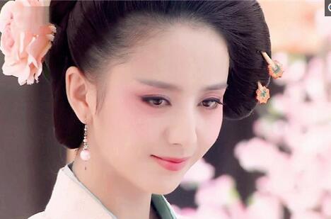 佟丽娅,梦回唐朝,造型有些惊艳-古装剧绝美唐代女子妆容 果真不一样图片