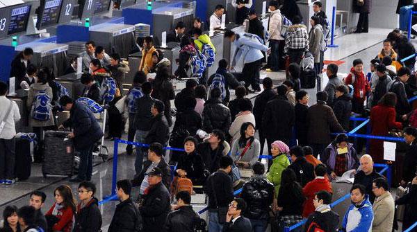 上海航空春运高峰将至 两大机场多项措施保障回家路