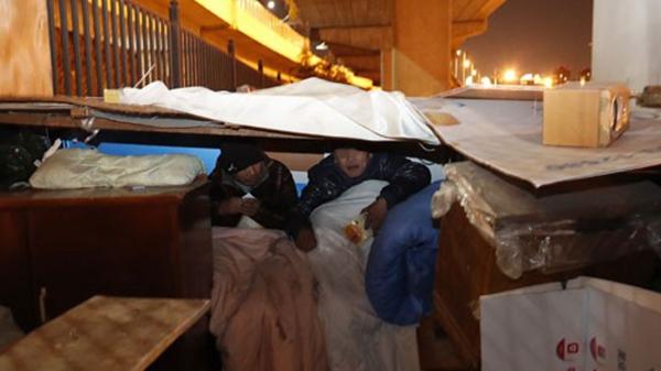 寒潮来袭 沪加大对流浪乞讨等人员救助力度