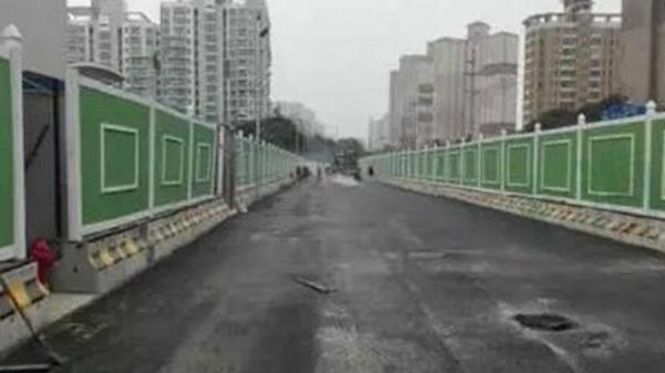 18号线一期民生路站今起施工 周边交通组织将调整