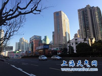申城明天仍有蓝天白云 下周二起气温回升