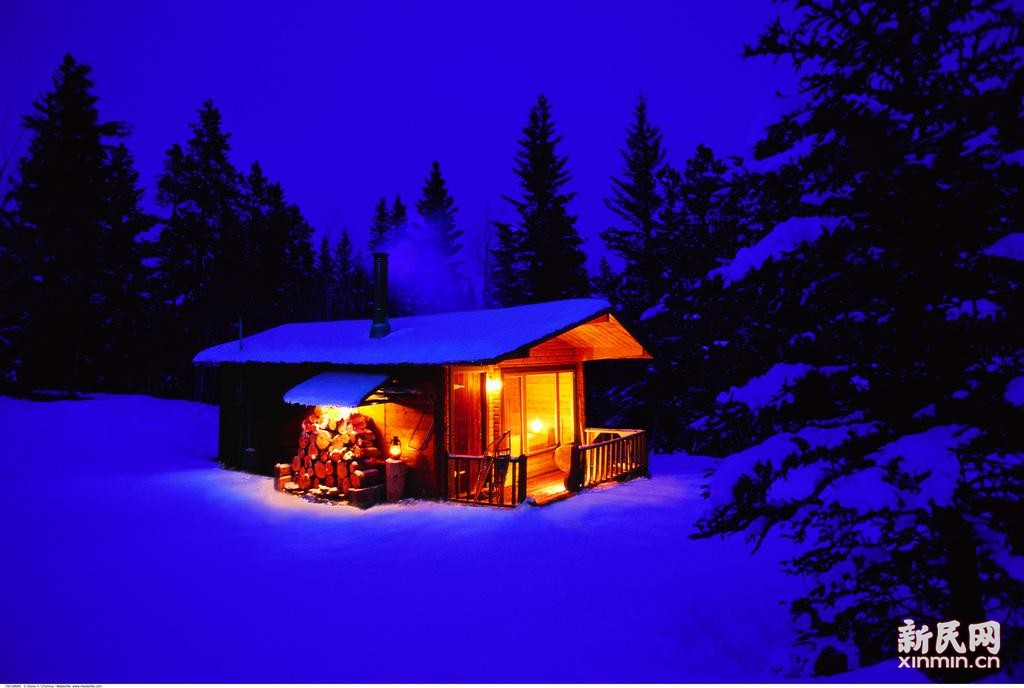 小屋半间依然温暖