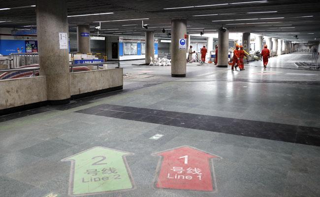 探访改造中的人广站:90%的电梯已经调试完毕