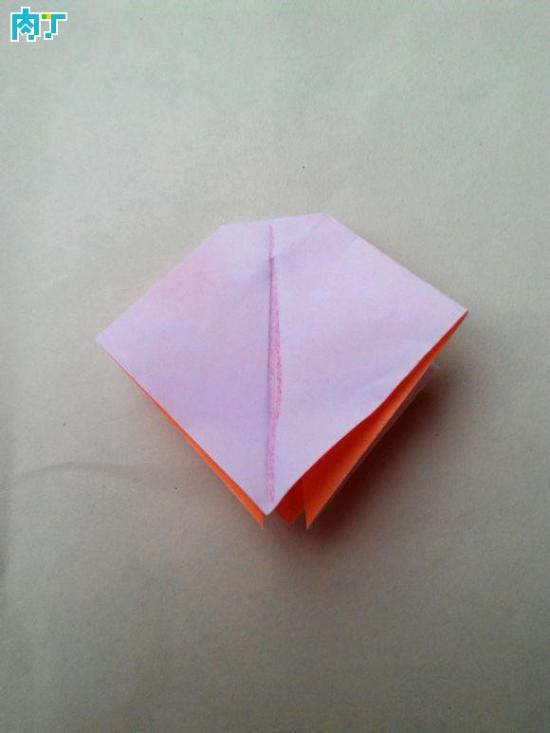 超级简单纸制蝴蝶结的折法图解教程
