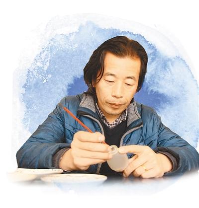 内画瓶:瓶装<a href='http://search.xinmin.cn/?q=山水' target='_blank' class='keywordsSearch'>山水</a> 细致精美