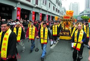 广州城隍爷要下南洋啦!城隍爷今年不巡北京路改赴东南亚巡游
