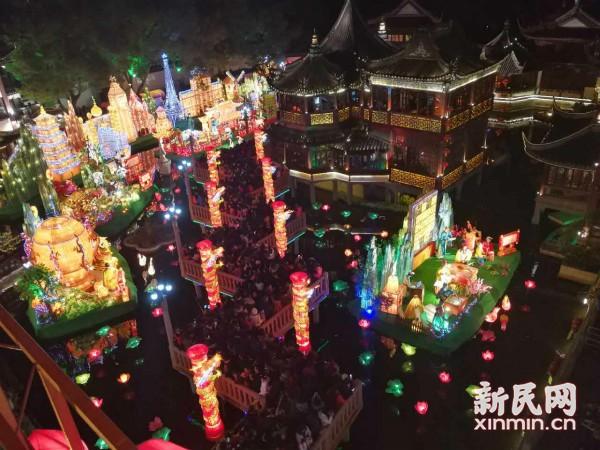 网络中国节·元宵 |正月十五闹花灯  元宵夜豫园今晚迎来观灯大客流