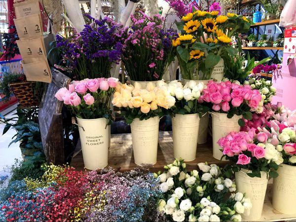 销售电商化、包装高颜值 情人节鲜花市场花样多