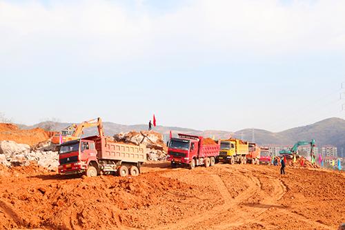 崇阳18个重点项目集中开工 总投资35亿元
