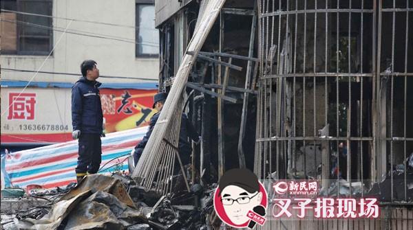 上海普陀中山北路一出租屋发生火灾 4人死亡