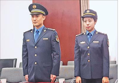 城管队伍服装年底前将统一 服装颜色为藏青色