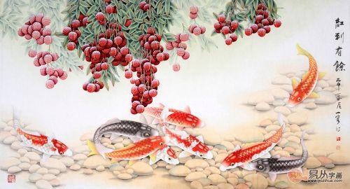 中国工笔画名家王一容作品 装饰,送礼,收藏皆相宜