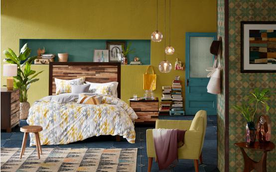 INKIVY几何靠垫 来自1950s的设计灵感