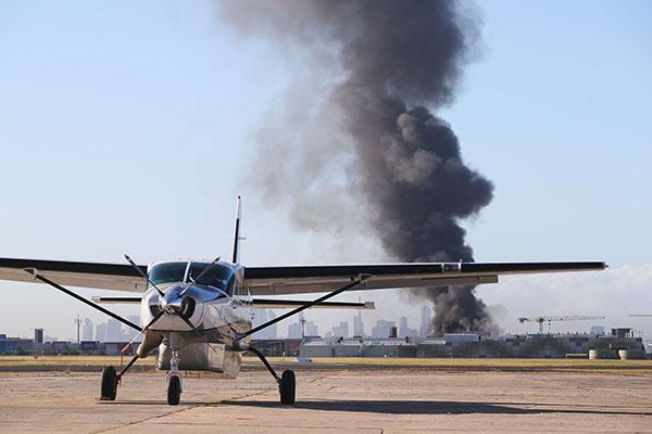 澳飞机坠毁系因引擎故障返航未果 遇难5人均为机上人员