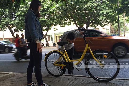 三种骑行方式各有优缺    目前南宁市除了传统的有桩公共自行车外