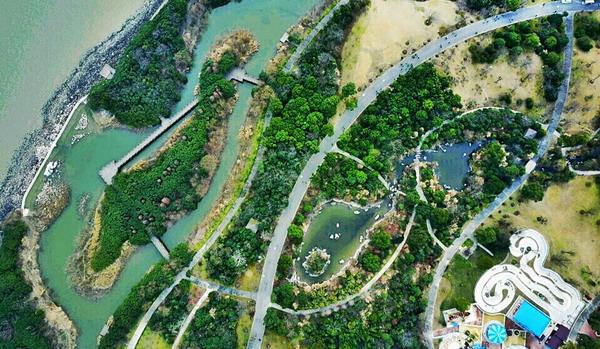 跻身国家级!沪吴淞炮台湾湿地公园正式揭牌