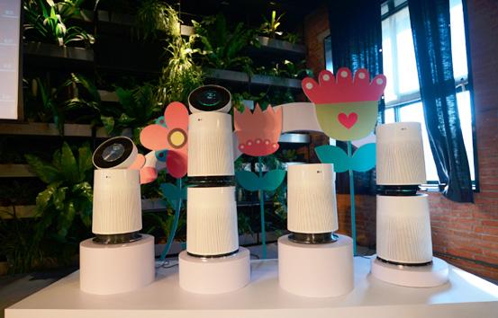 LG新款空气净化器发布 注重保护1米以下呼吸空间
