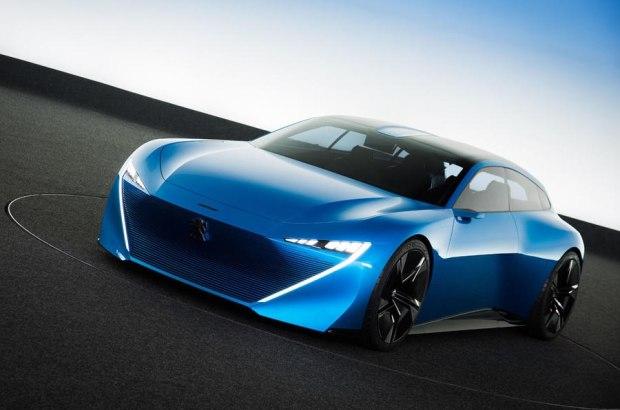 未来设计风格 标致Instinct概念车发布