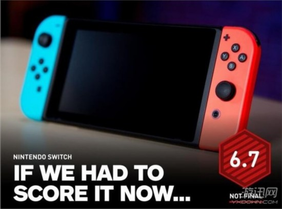 黑科技也不好使 任天堂Switch IGN临时评分仅6.7分