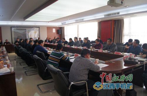 新建区区长陈吉炜到长堎工业园区调度新能源汽车产业园项目