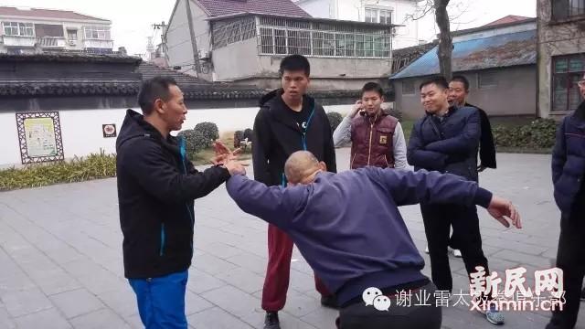 """太极推手名家谢业雷受邀19日赴浦东开讲""""四正手"""""""