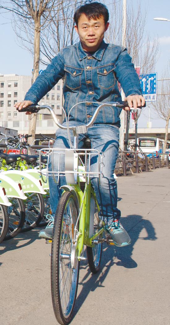 共享单车亮相街头