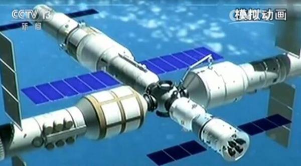 中国空间站核心舱拟2019年发射 三年完成在轨建造
