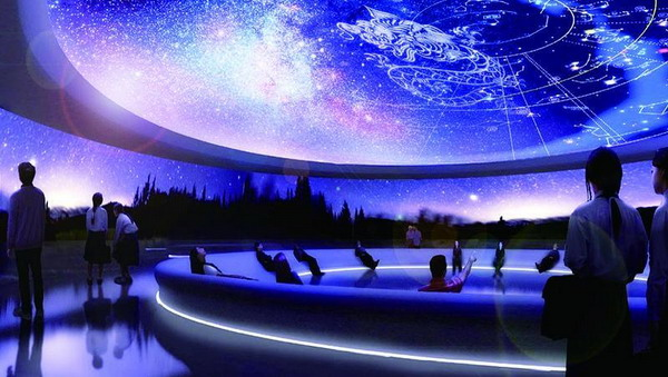 """上海天文馆将设世界顶级光学天象厅 2020年可仰望""""璀璨星空"""""""