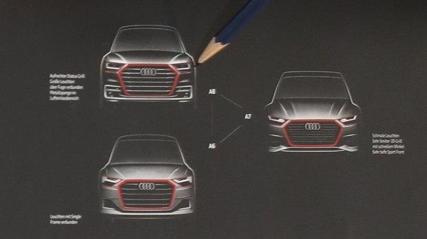 新A8或7月发布 新A6/A7/A8设计图曝光