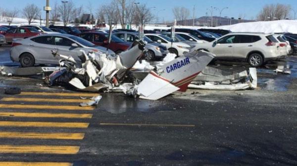两架小型飞机在加拿大蒙特利尔上空相撞 1名中国公民死亡