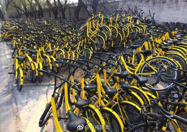 北京共享单车维修点:近4000辆待修 多数系人为破坏