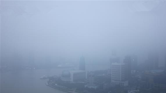 阴雨连绵 今日申城有阵雨 最高温14度