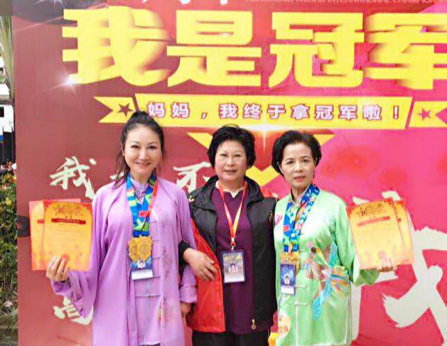 香港国际武术节 上海精武斩获4枚太极金牌