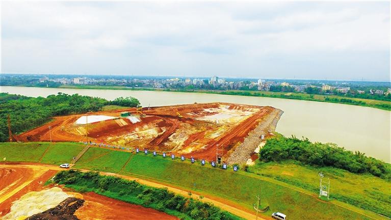海口东部城市供水线路开工 将解决水荒问题