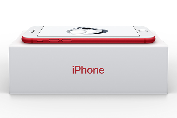 这不是姨妈红!苹果卖红色版iPhone7 将捐款防艾基金