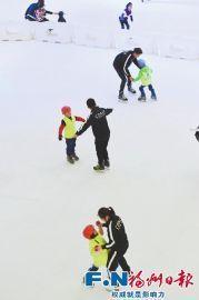 福建悄然兴起冰雪运动