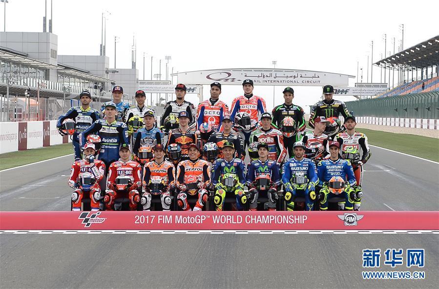 (体育)(1)赛车——2017年<a href='http://search.xinmin.cn/?q=世界摩托车锦标赛' target='_blank' class='keywordsSearch'>世界摩托车锦标赛</a>开幕