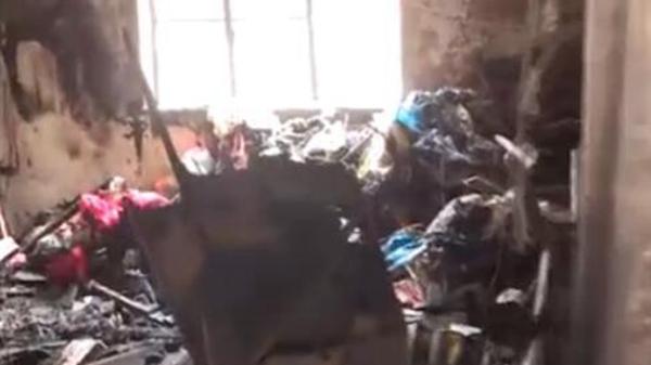 申城一民宅起火引发悲剧 87岁老伯丧生火海