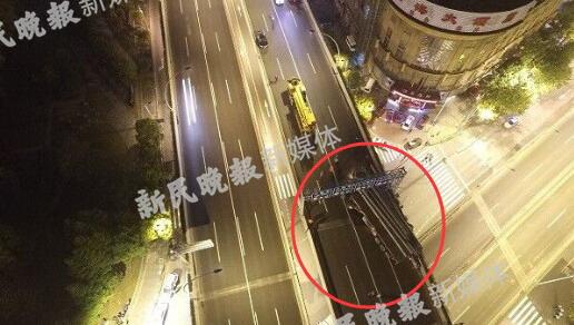沪中环线事故责任单位建景物流被处21万罚款 吊销运营证赔偿千万