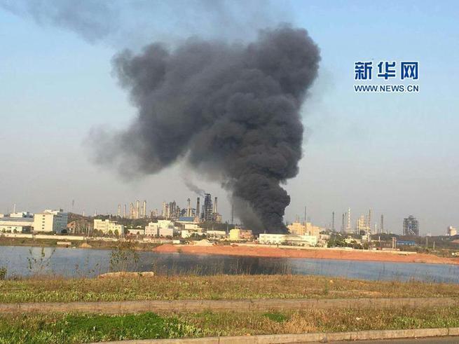 安徽安庆一油品公司发生闪爆事故 导致5人死亡3人受伤