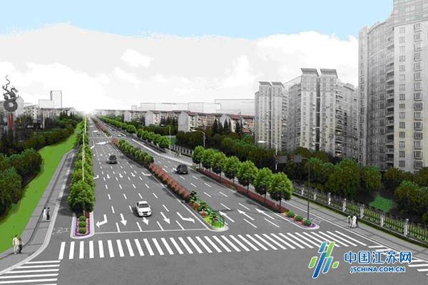 南京苜蓿园大街启动环境综合整治工程 10月底竣工
