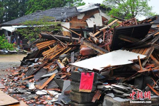 """日本熊本大地震一周年数万人仍处""""避难""""生活"""