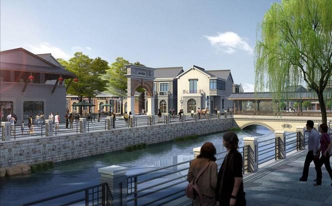 而南京市江宁区汤山老集镇位于温泉养生小镇的核心区域,汤水河的综合