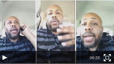 美国一男子网络直播枪杀路人 目前仍然在逃