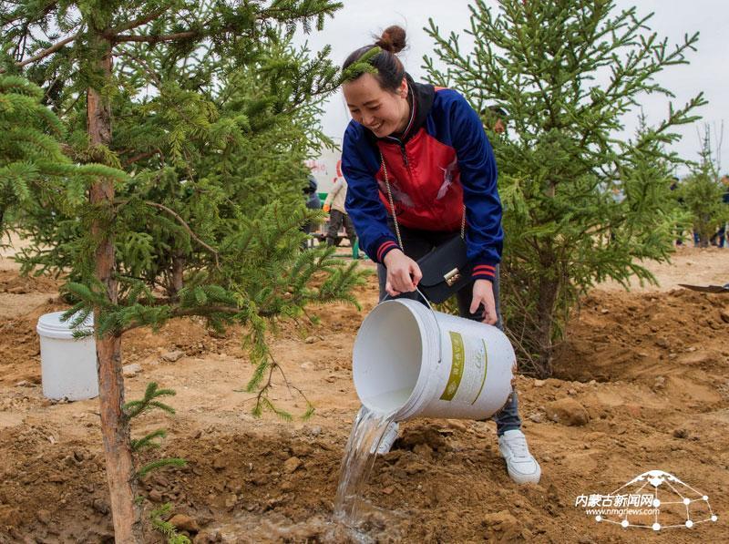 【现场】全民义务植树 创造美好环境